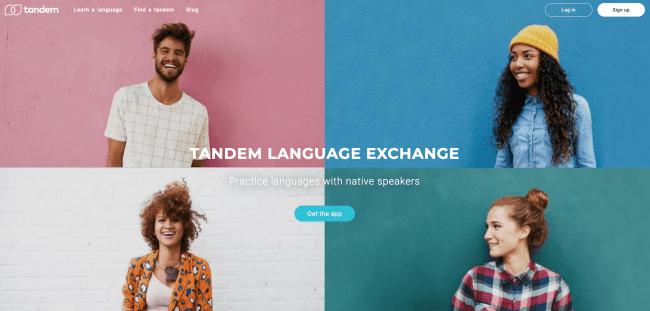 سایت های تبادل زبان