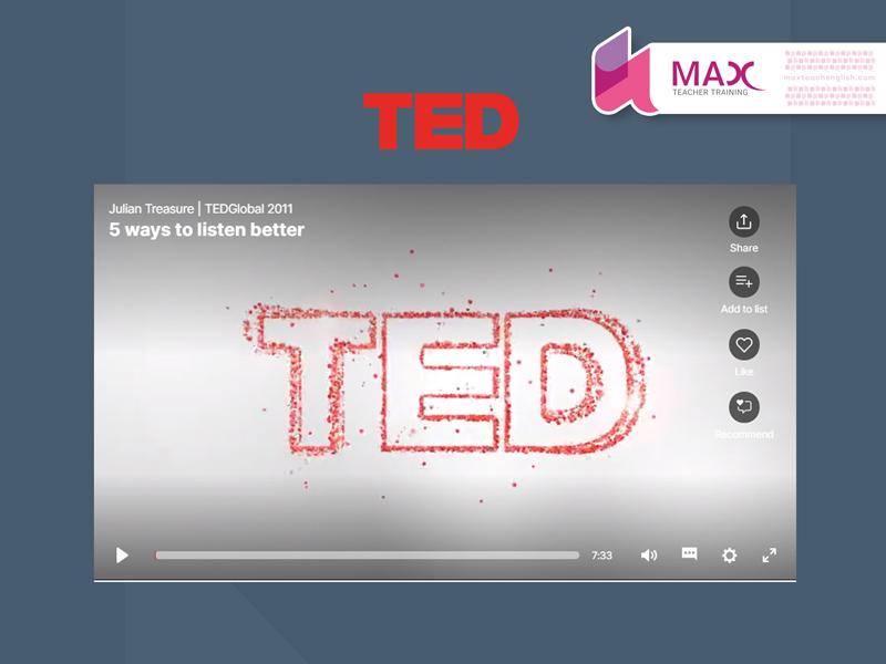 تدریس زبان با تد تاک